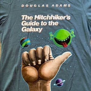 Tops - Hitchhiker's Guide to the Galaxy T-shirt NWOT